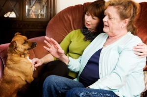 Pet therapy can be wonderful in hospice.