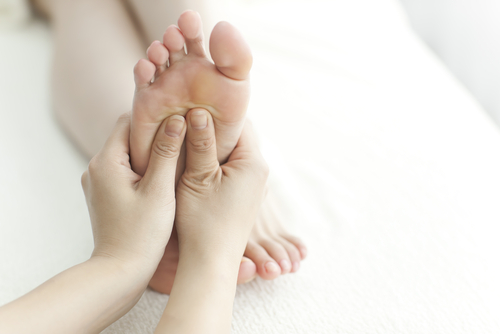 Hospice reflexology can relieve stress for both patient and caregiver