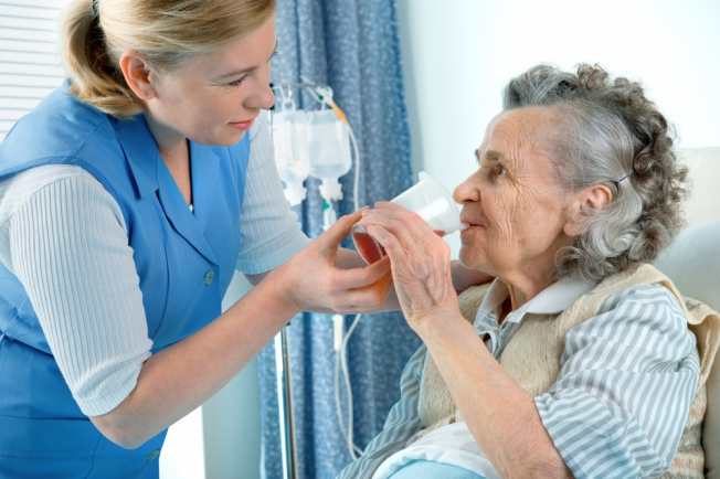 What does a speech therapist do in hospice care?